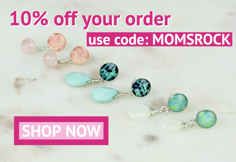 Mother's day promo code MOMSROCK for 10% off your order from 4/22-25