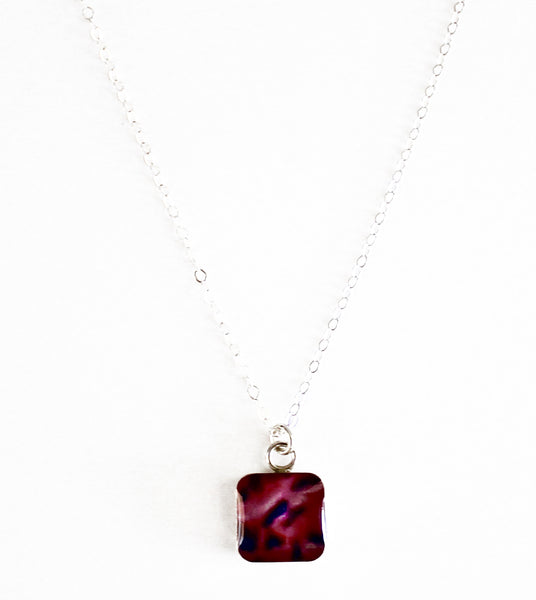 Arteriosclerosis Inspired Short Necklace