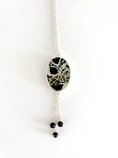 Alzheimer's Inspired Long Necklace