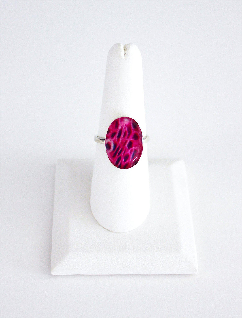 Breast Cancer Inspired Sterling Silver Ring