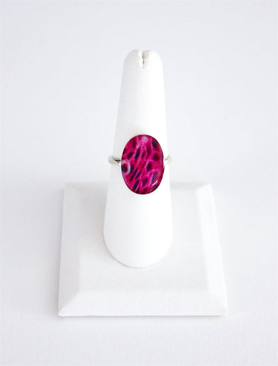 Breast Cancer Inspired Sterling Silver Ring-Ring-Revive Jewelry-7-Revive Jewelry