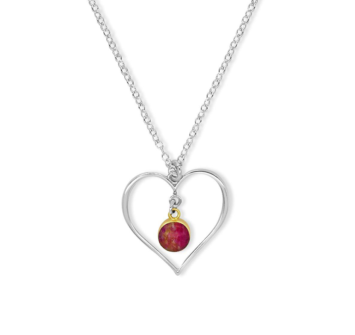 Heart Pocket Necklace for Heart Disease Research
