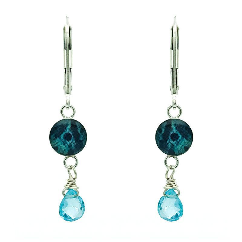 Kindred Spirits Earrings in Apatite