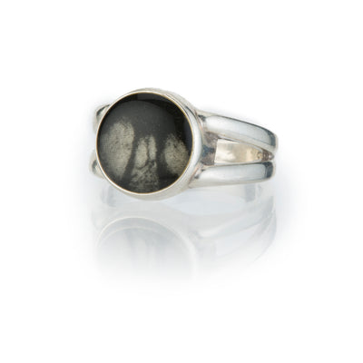 Round Split Ring-Ring-Revive Jewelry-7-Revive Jewelry