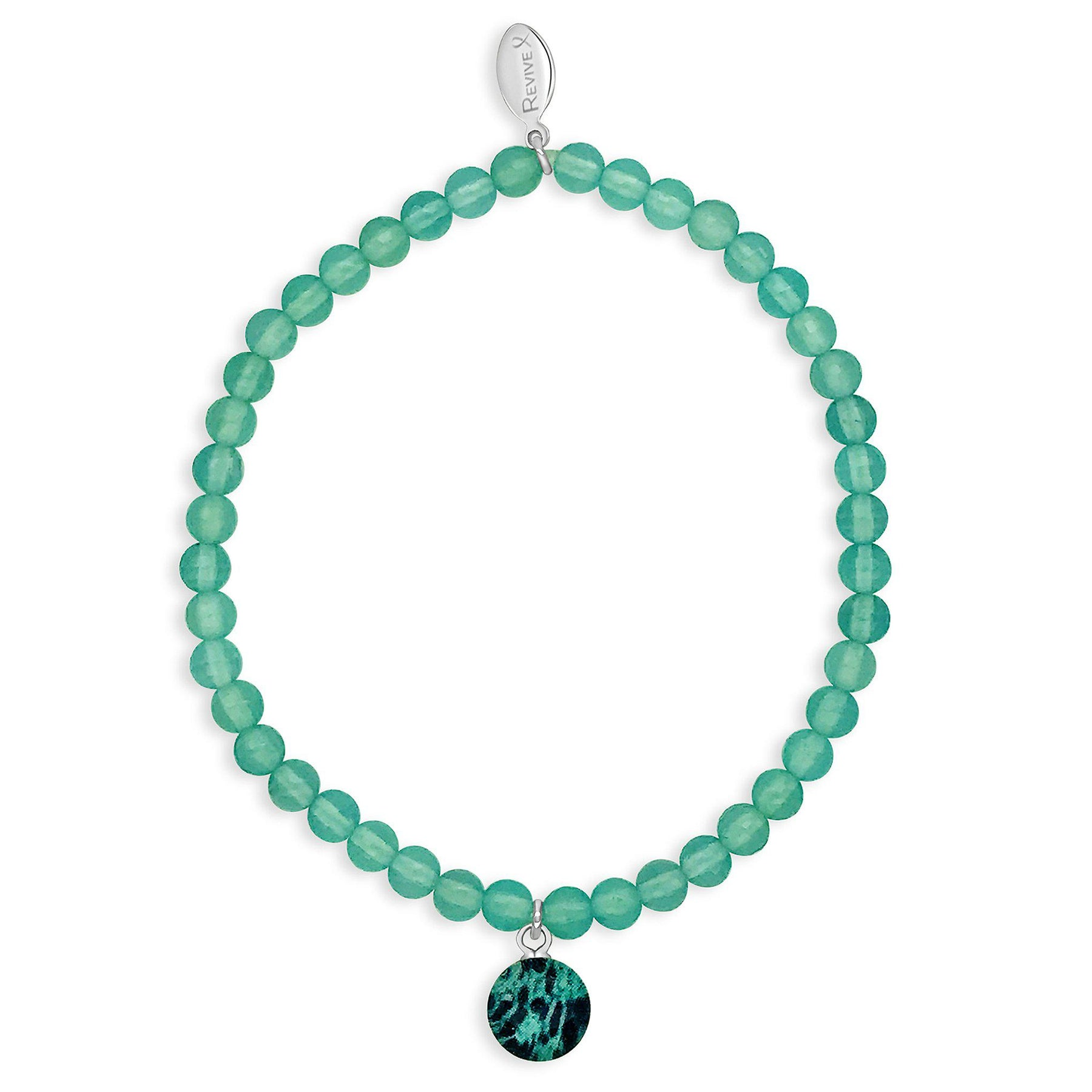 Stacking Stretch Bracelet Ovarian Cancer Jewelry Awareness Jewelry Revive Jewelry