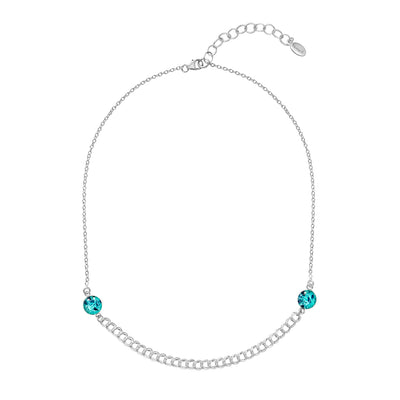 ovarian cancer awareness necklace in sterling silver that gives back to charity