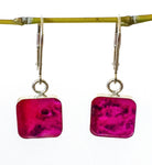 Breast Cancer Inspired Sterling Earring