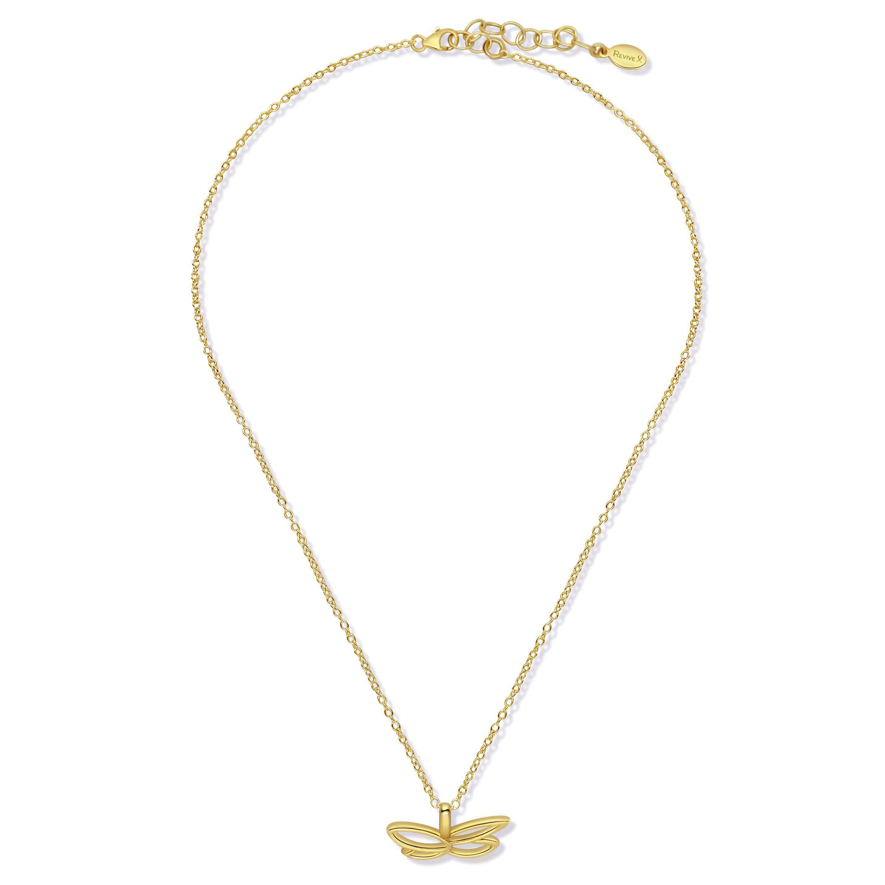 14k gold filled butterfly pendant on dainty chain based on breast cancer cell