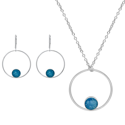 awareness jewelry set gives back to charity for different causes