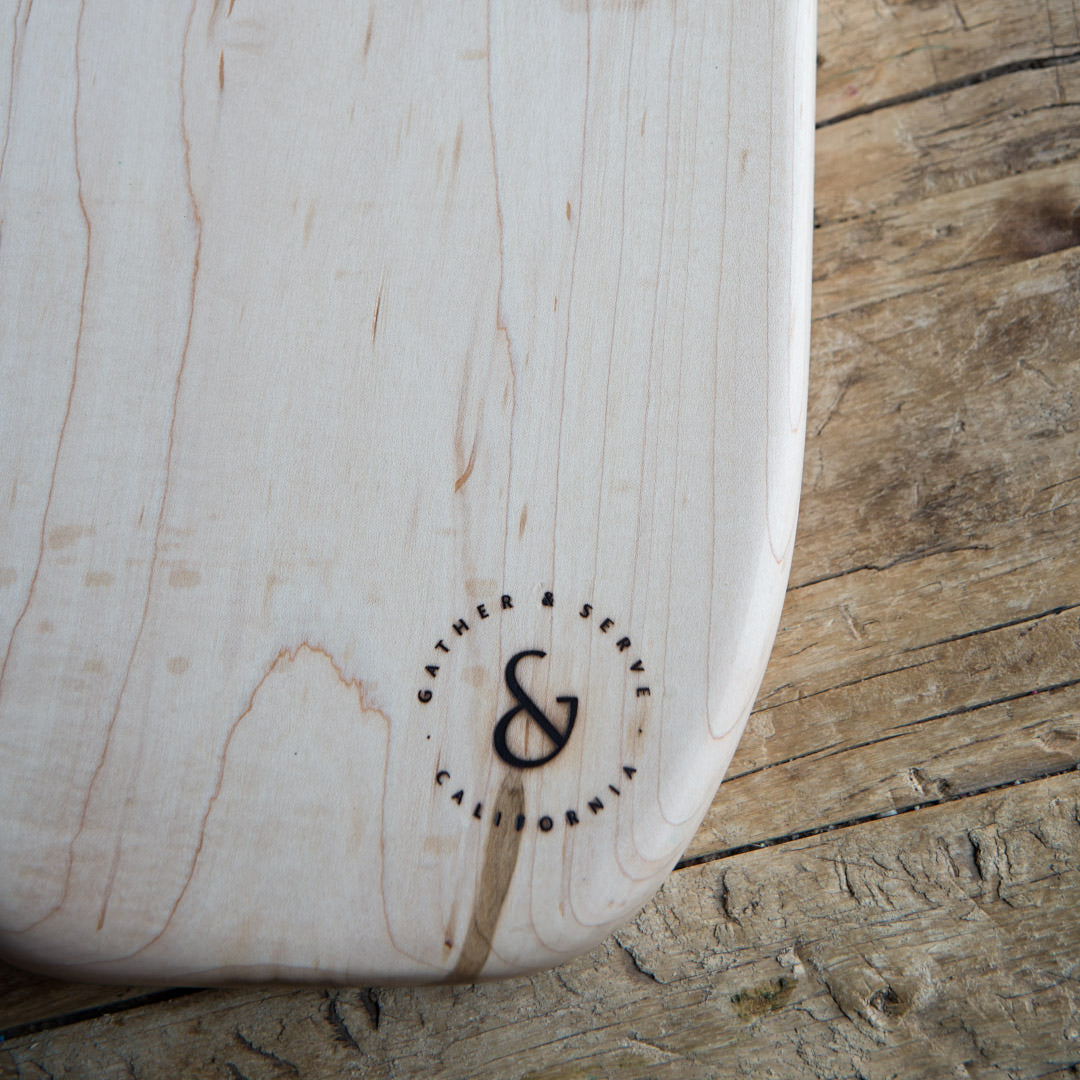 Serve Board Surf White Oak