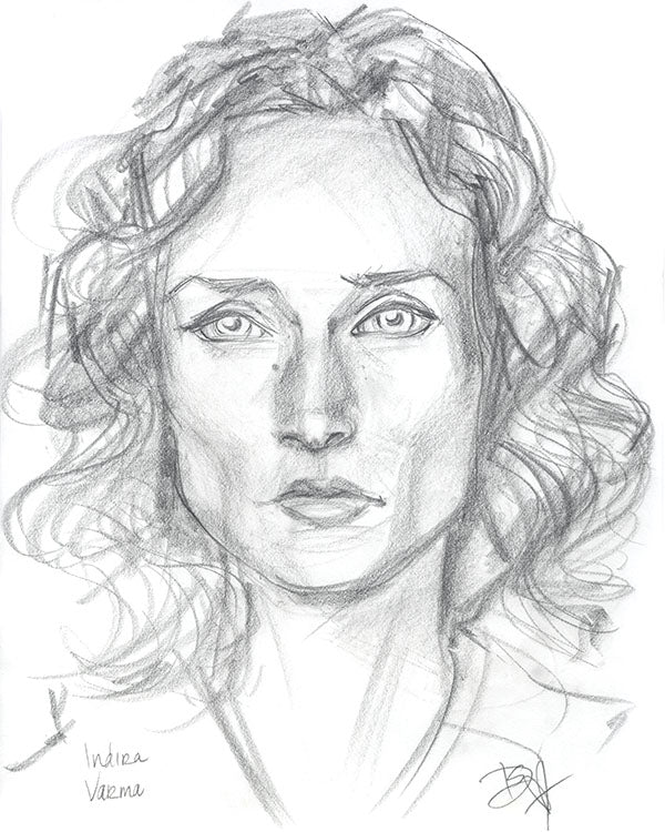 Indira Varma - Slow Burn Studio