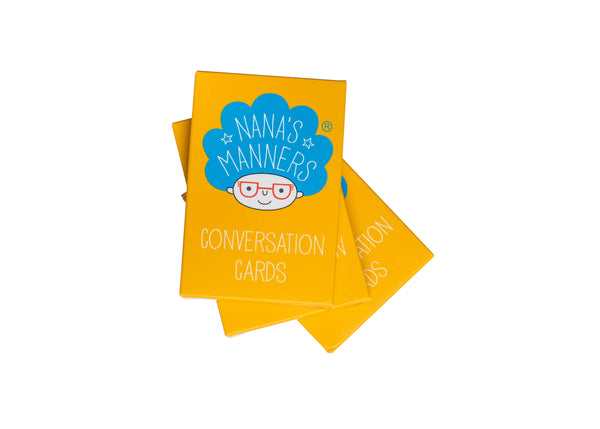 Nana's Manners Conversation Cards