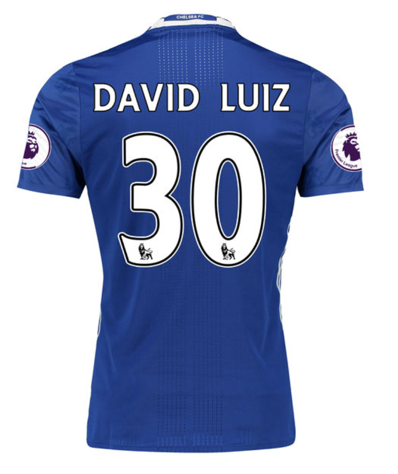 Customized Chelsea F.C. Soccer Jersey - 2016/2017 Hot!