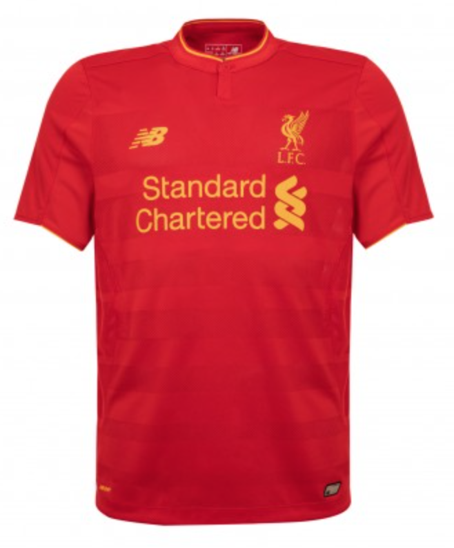 Customized Liverpool Soccer Jersey - 2016/2017 Hot!
