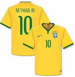 Customized Brazil National Team Soccer Jersey