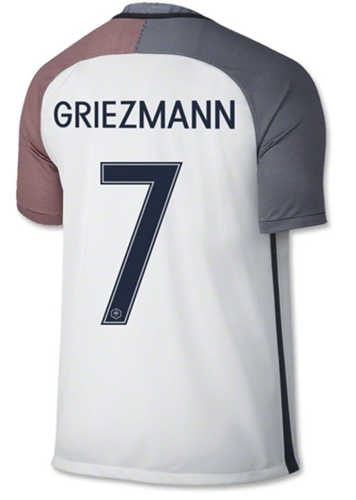 France National Team Soccer Jersey