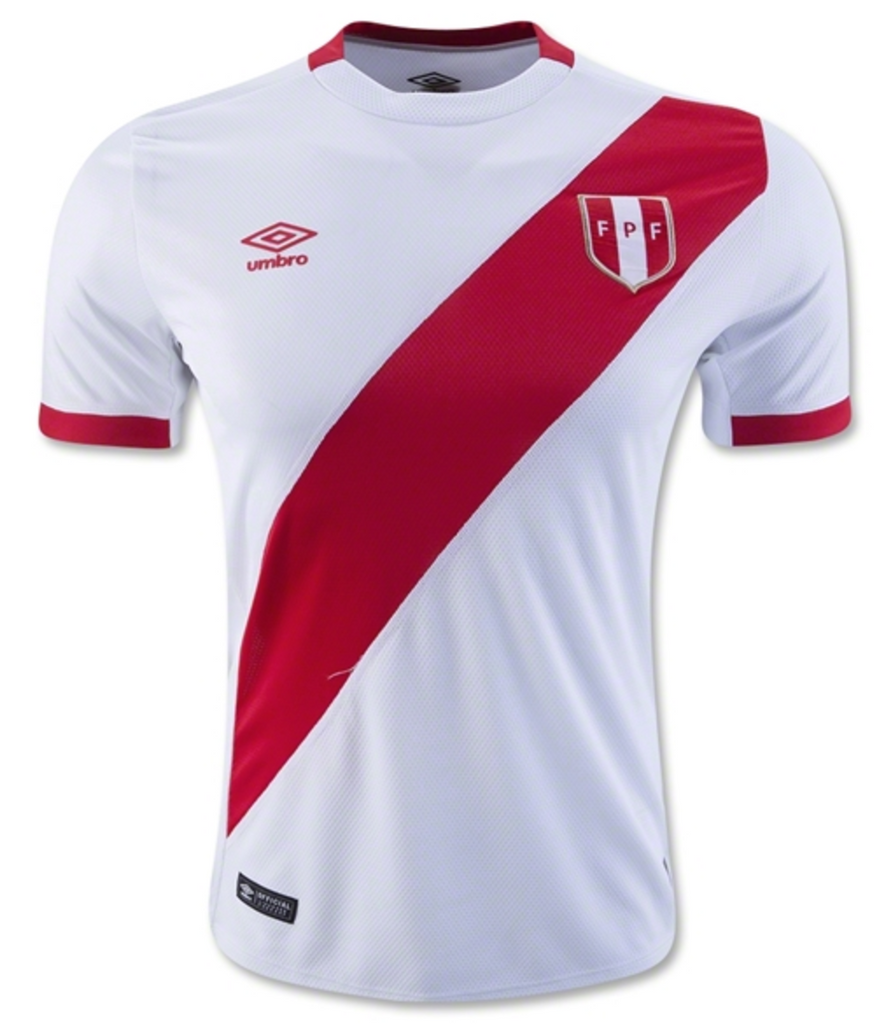 Peru National Team Soccer Jersey