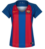 Woman's Customized FC Barçelona Soccer Jersey - 2016/2017 Hot!