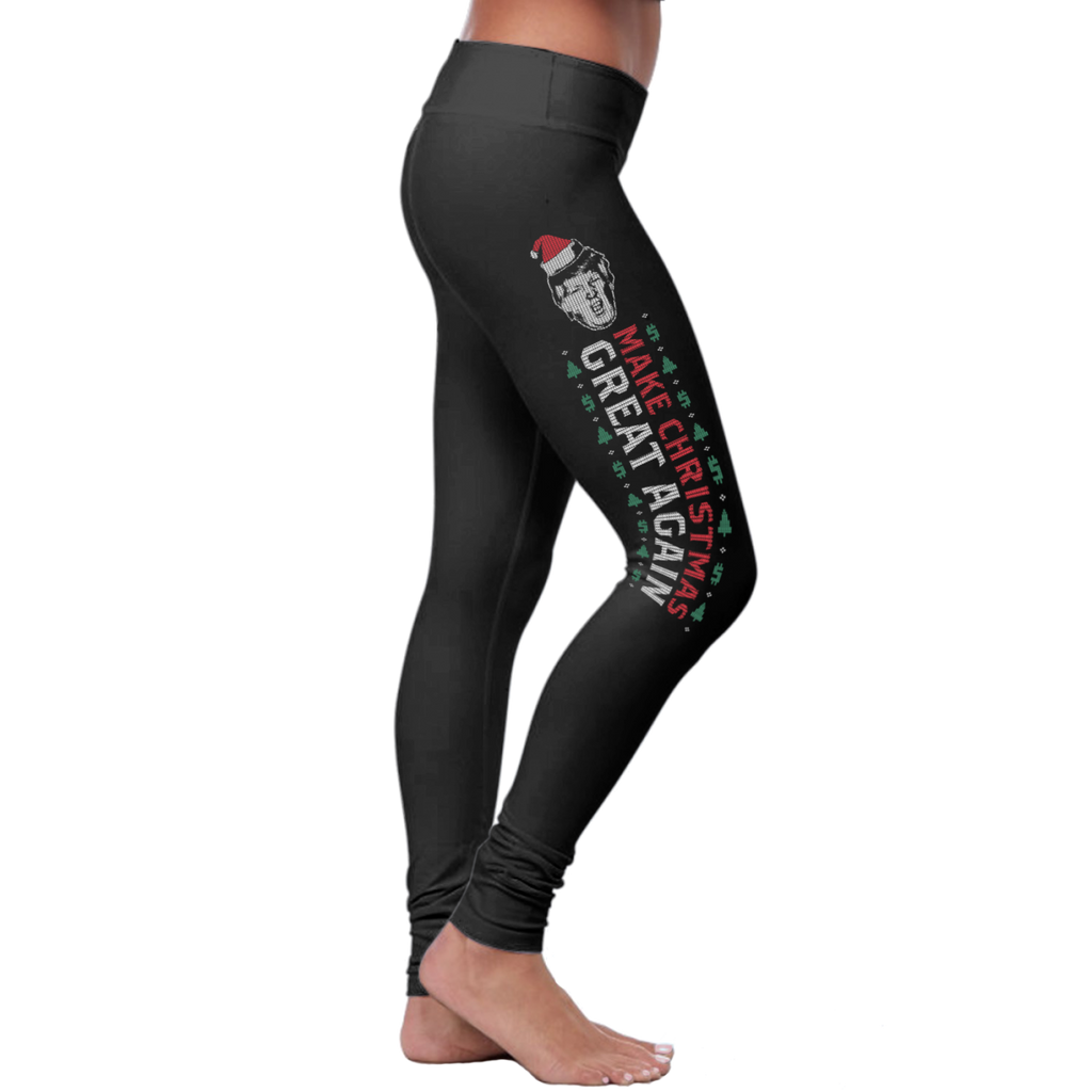 "Christmas ""Make Christmas Great Again"" - Leggings"