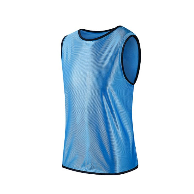 Ultra-Light Breathable Quickly-Dry adult Soccer Jersey Football/Basketball Training Vest