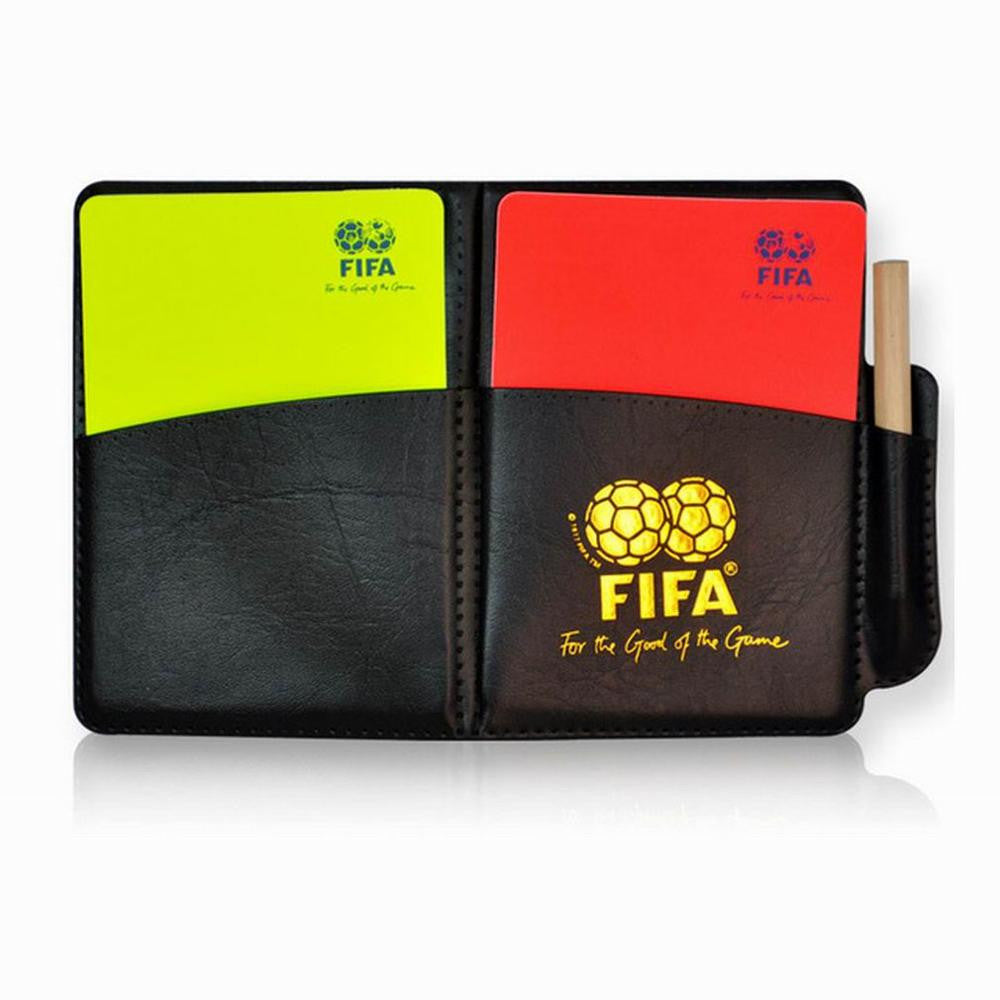 Football Referee Red/Card Yellow Card Judge Case