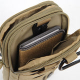 Tactical Waist Bag Outdoor Sporty Military Waist Fanny Pack W/ Mobile Phone Case