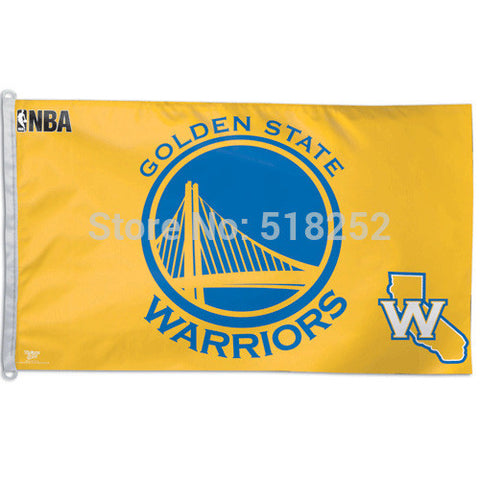 Golden State Warriors Flag 3x5 FT Polyester NBA