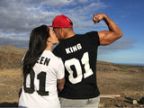 Valentine Shirts Woman/Men  King or Queen Couples