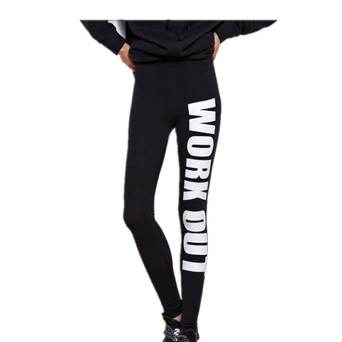 Women's Sport Pants Fitness 'Print' Slim Sexy Gym Sport Pants