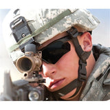 US Military Goggles, Polarized Ballistic 3, 4 or 5 Lenses, Men's Tactical Eye Protection