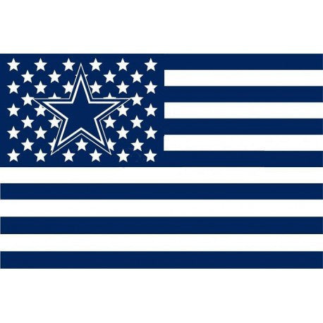 NFL Dallas Cowboys US Flag Banner