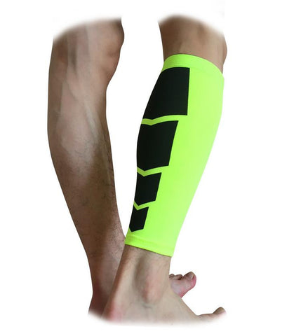 Unisex Compression Leg Warmers Calf Support Shin Guard