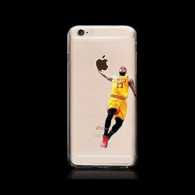 Basketball Stars Case for iPhone 6/6S Hard Plastic Cover