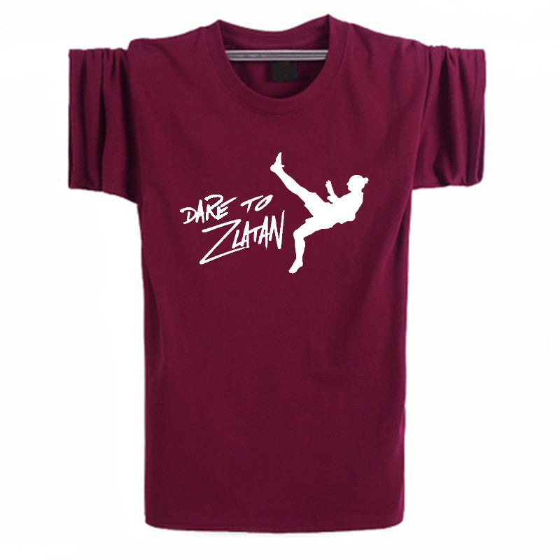 DARE TO ZLATAN Ibrahimovic T Shirts Men
