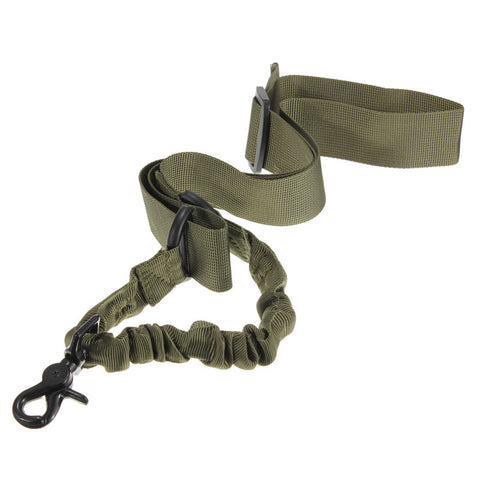 Adjustable Tactical Single Point Bungee Rifle Gun Sling