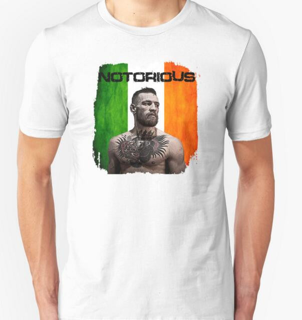 The Notorious Conor McGregor UFC T-Shirt Tees Men