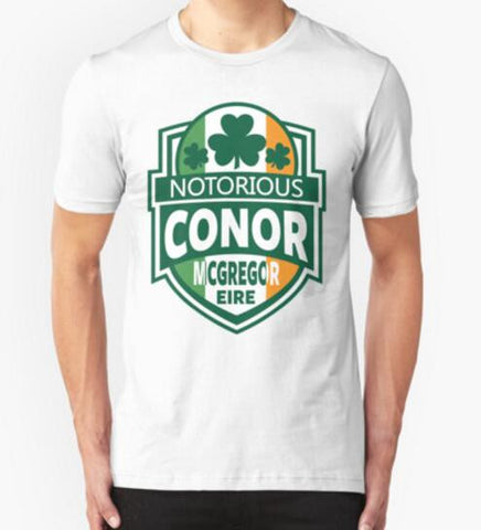 Conor Mcgregor Men T-shirt Tops Designer Tee