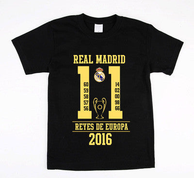 2016 T-shirt Reals Madrid