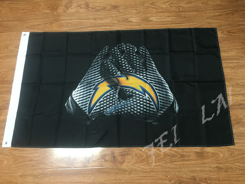 San Diego Chargers Glove 3x5 ft Flag 90x150cm NFL