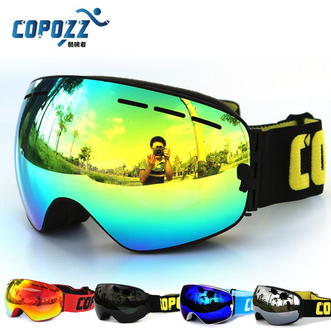 Professional Ski Goggles Double Lens Anti-fog UV400 Big