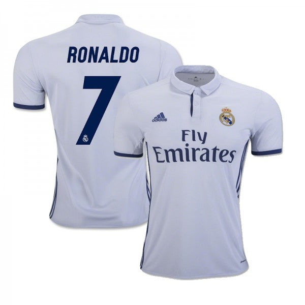 Customized Real Madrid F.C. Kids Soccer Jersey - 2016/2017 Hot!