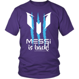 Messi is BACK Apparel Shirt/Hoddie - Limited Edition 009031