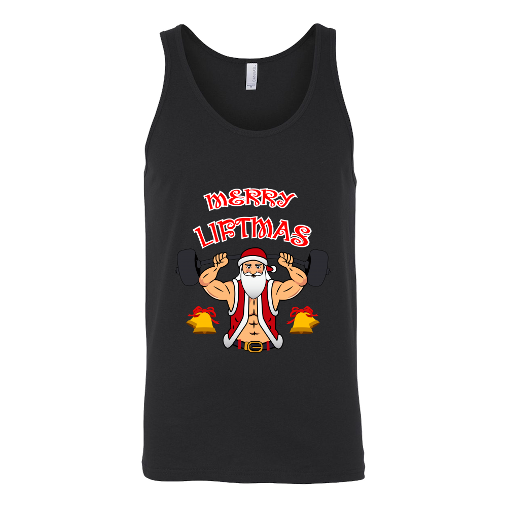 Merry Liftmas Holiday Gym Tank - Limited Edition 00231