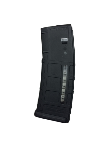 Magpul PMAG M2 MOE 223/556 30 Round Black Magazine with window.