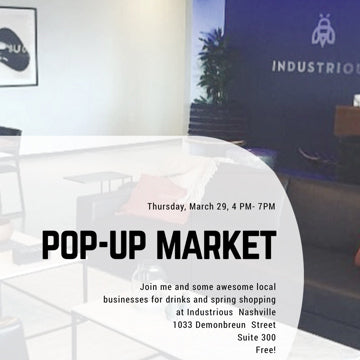 Pop-up Market at Industrious Nashville