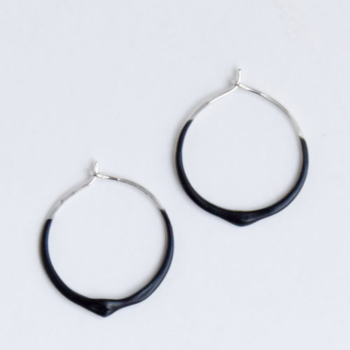 Dripsy - Sterling Silver - Black