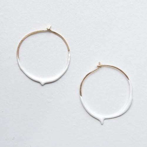 Dripsy - 14K Gold Filled - Frothy White