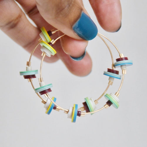 Deco Blue Hoops
