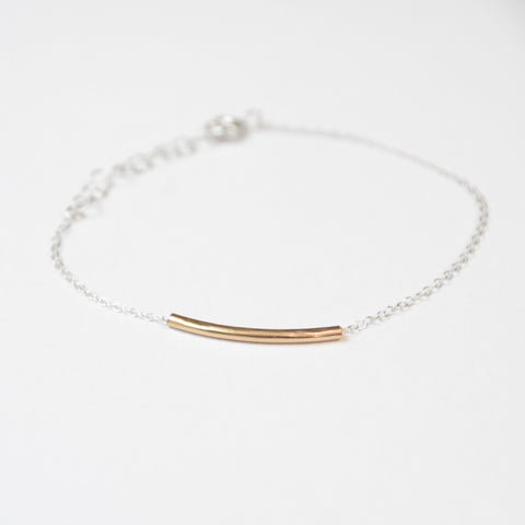 Space Tunnel Bracelet - Gold on Gold
