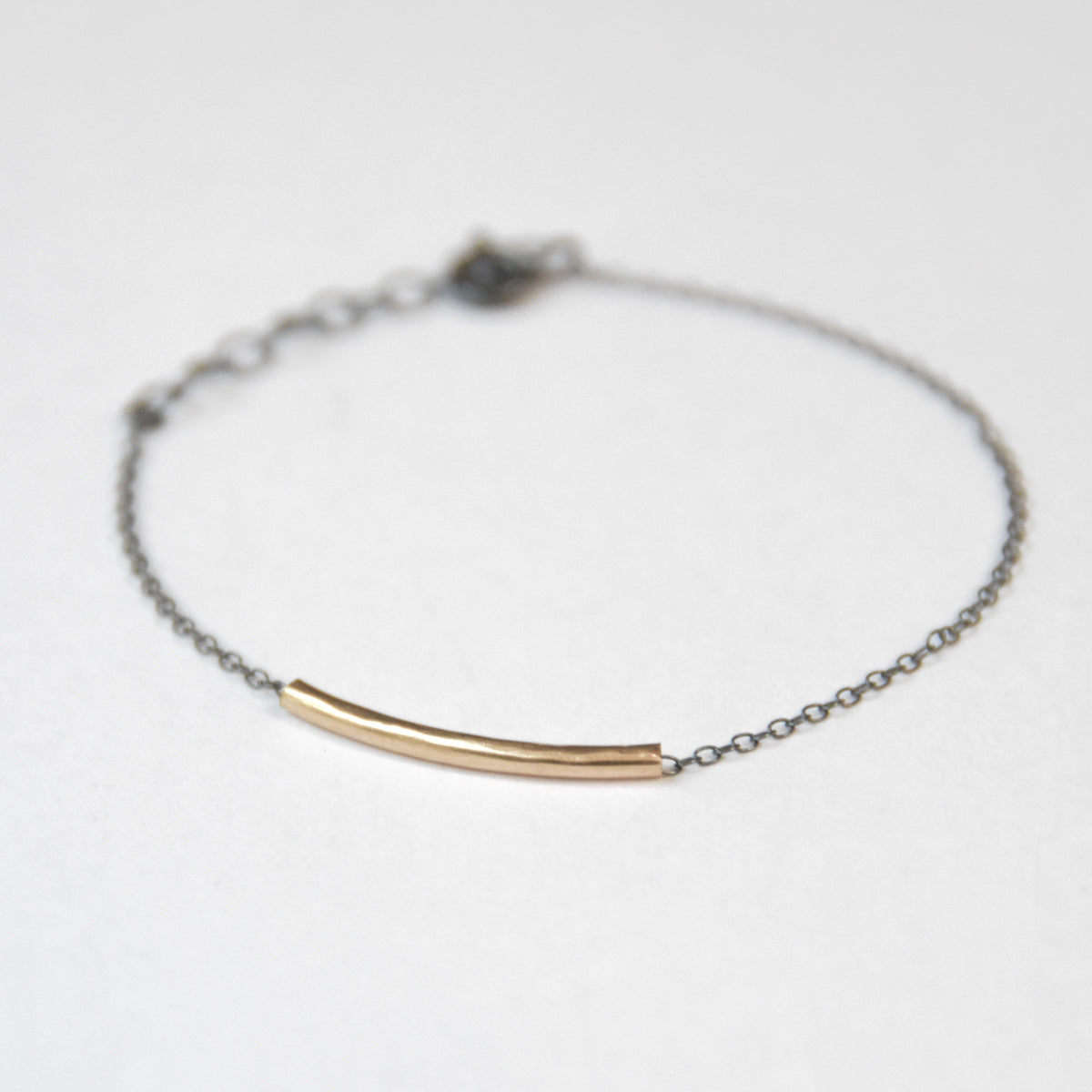 Space Tunnel Bracelet - 14K Yellow Gold-Filled